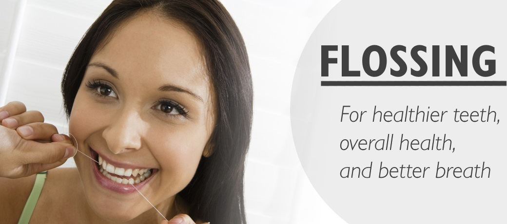 Flossing for your teeth, for your health, and for fresher breath