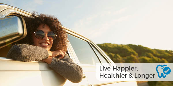 live happier, healthier and longer